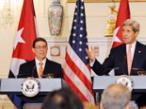 """美国务卿与古巴外长历史性会晤 赞扬两国关系""""新起点"""""""