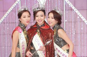 香港小姐三甲出炉 剑桥学霸麦明诗夺冠