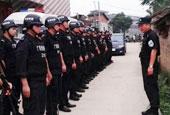 广西贵港上千警民连日搜捕杀人疑犯