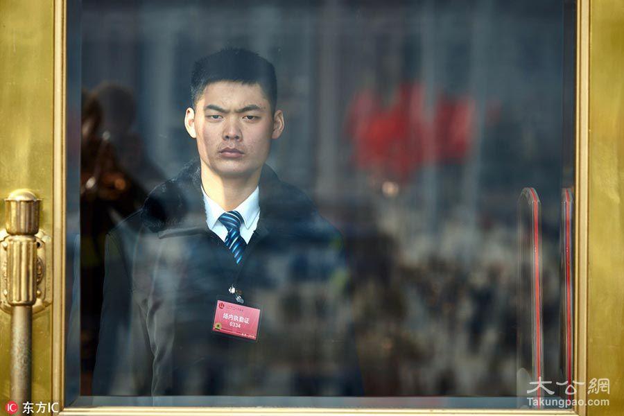 1/4 2018年3月5日,中国北京,2018全国两会在北京召开.
