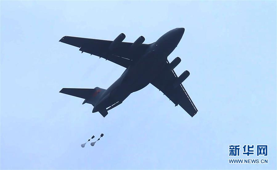 中国空军运-20飞机首次开展空降空投训练 - 春华秋实 - 春华秋实 开心快乐每一天